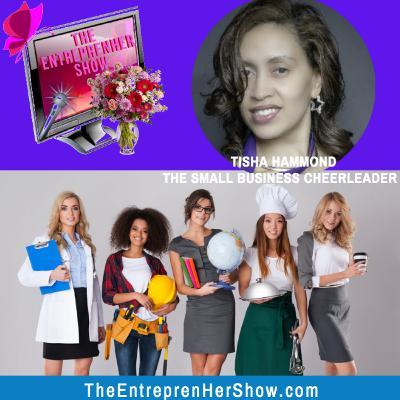 Meet Tisha Hammond, The Small Business Cheerleader