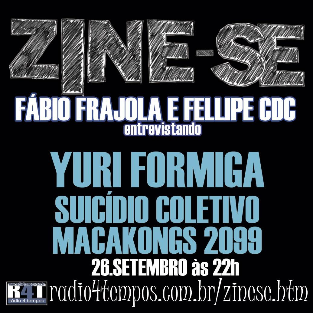 Rádio 4 Tempos - Zine-se 108