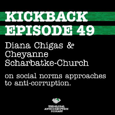 49. Diana Chigas and Cheyanne Scharbatke-Church on social norms approaches to anti-corruption.