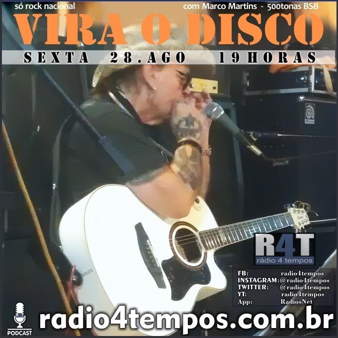 Rádio 4 Tempos - Vira o Disco 74:Rádio 4 Tempos