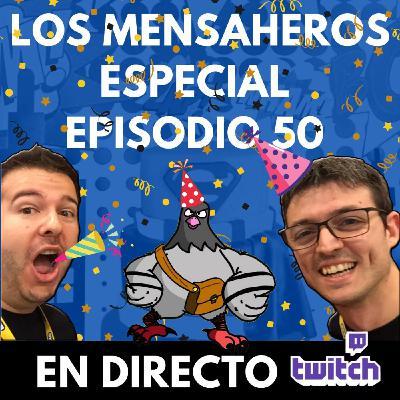 Especial fiesta 50 aniversario de los episodios @losmensaheros