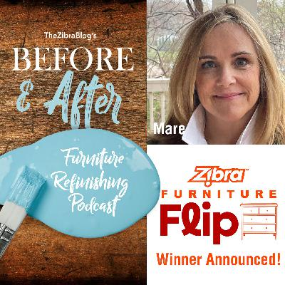 We Announce The Winner Of The Zibra Furniture Flip, Plus We Introduce April's Featured Furniture Artist!
