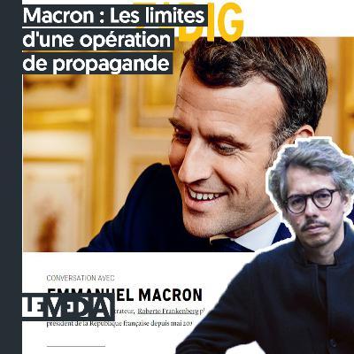 L'instant Porcher | Macron : Les limites d'une opération de propagande
