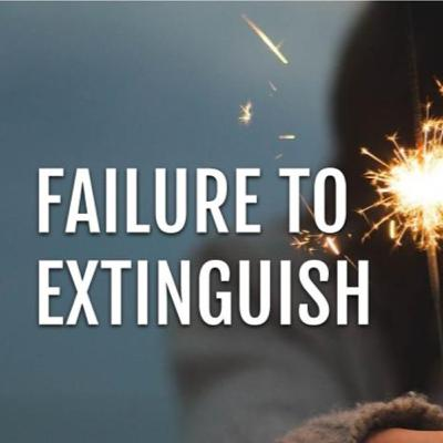 CT02: Failure to Extinguish: A Poem by Josh Hatcher for #CreativeThursday