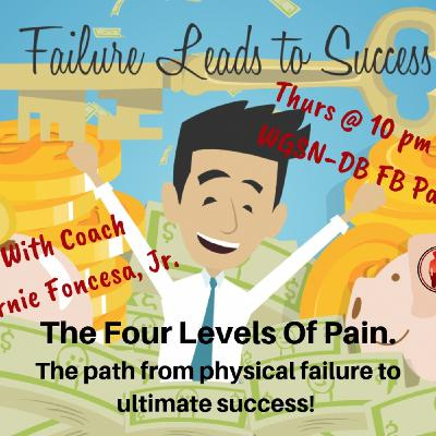 The Four Levels Of Pain - The path from physical failure to ultimate success