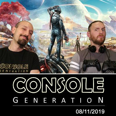 9 anni di Console Generation / The Outher Worlds - CG Live 08/11/2019