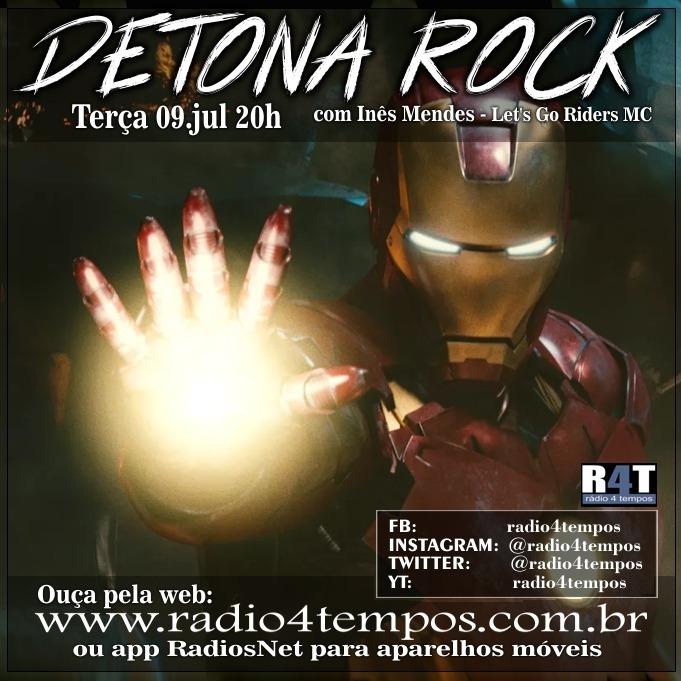 Rádio 4 Tempos - Detona Rock 17:Rádio 4 Tempos