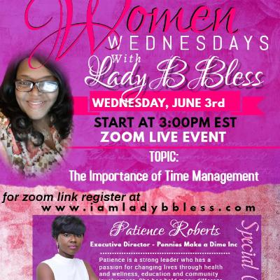 #2 June 3, 2020 - (Patience Roberts) Women Wednesdays