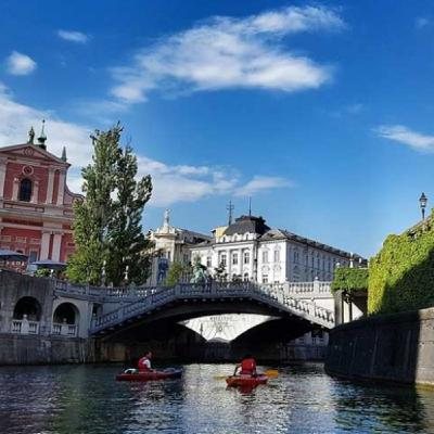 71 - Lubiana, una città dal cuore mitteleuropeo