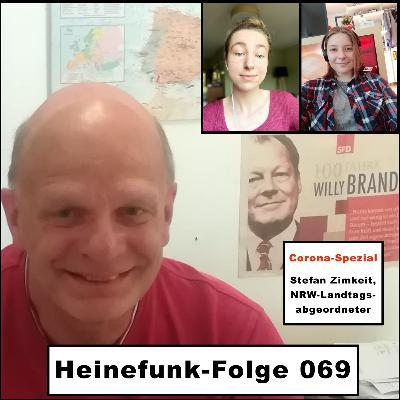 Heinefunk-Folge 069: Der Landtagsabgeordnete Stefan Zimkeit