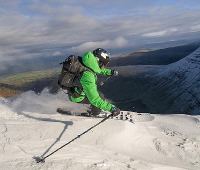 65: The 'Great Escape' from Verbier, Skiing in Wales, Cross Country & Crans Montana