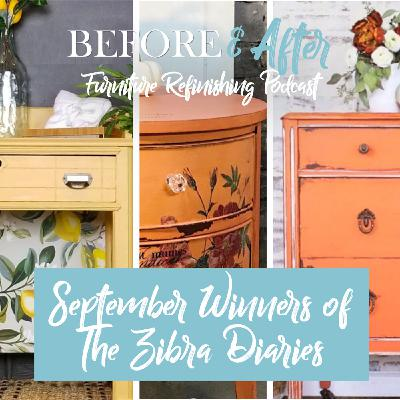 Yellow & Orange was the theme for September's Zibra Diaries Contest…the winners discuss their colorful pieces.