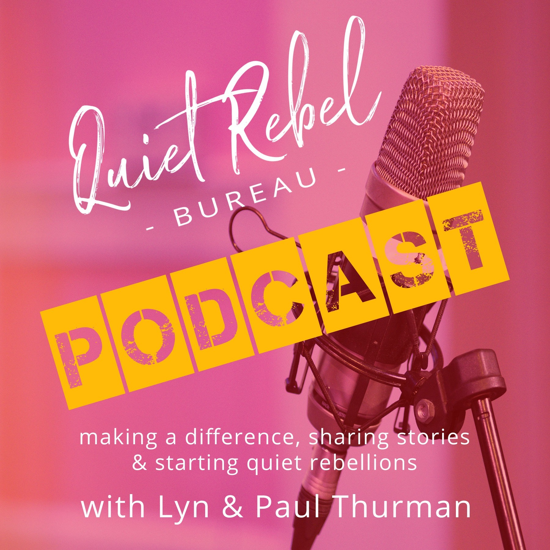 Quiet Rebel Bureau Interview With Lyn and Paul Thurman