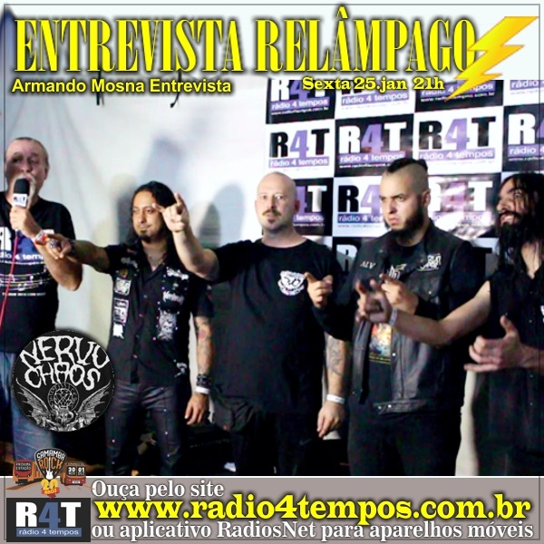 Rádio 4 Tempos - Entrevista Relâmpago 39