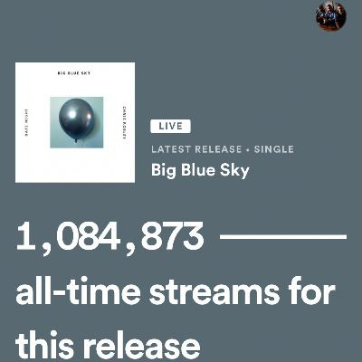 One Million Streams on Release Day! ISRC FTW