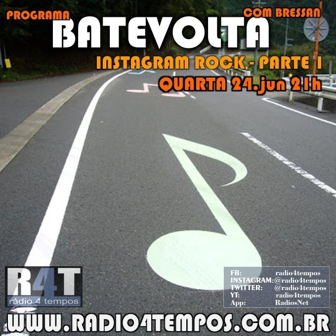 Rádio 4 Tempos - BateVolta 184:Rádio 4 Tempos