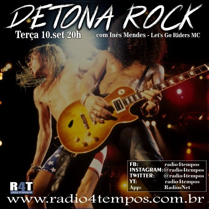 Rádio 4 Tempos - Detona Rock 23:Rádio 4 Tempos
