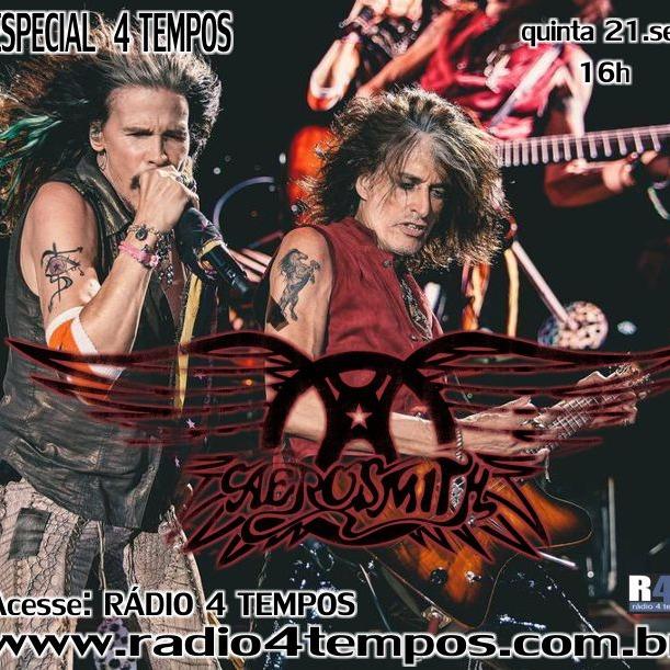 Rádio 4 Tempos - Especial 4 Tempos - Aerosmith