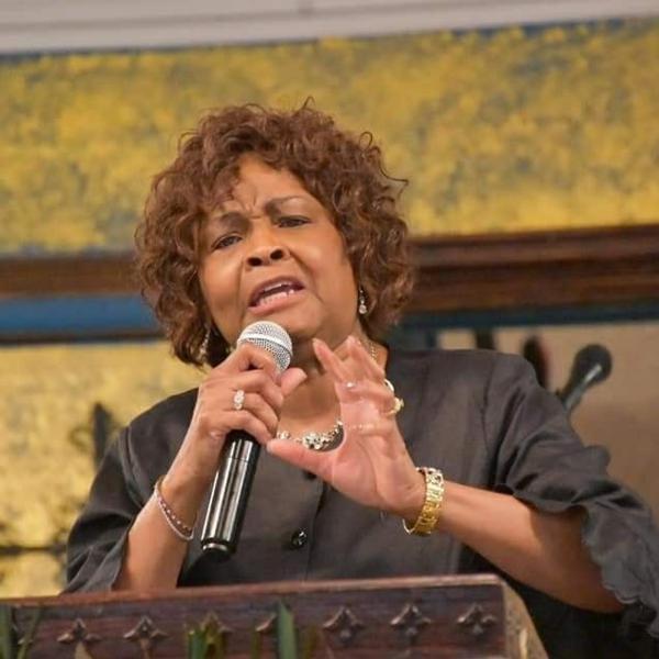 Evangelist Donna Robinson at The Worship Center in North Little Rock, AR