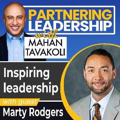 Inspiring leadership with Accenture's Marty Rodgers | Greater Washington DC DMV Changemaker