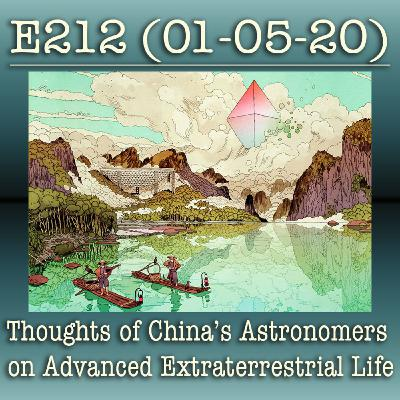 E212 Thoughts of China's Astronomers on Advanced Extraterrestrial Life