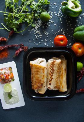How to Make Spicy Paneer Burrito Recipe