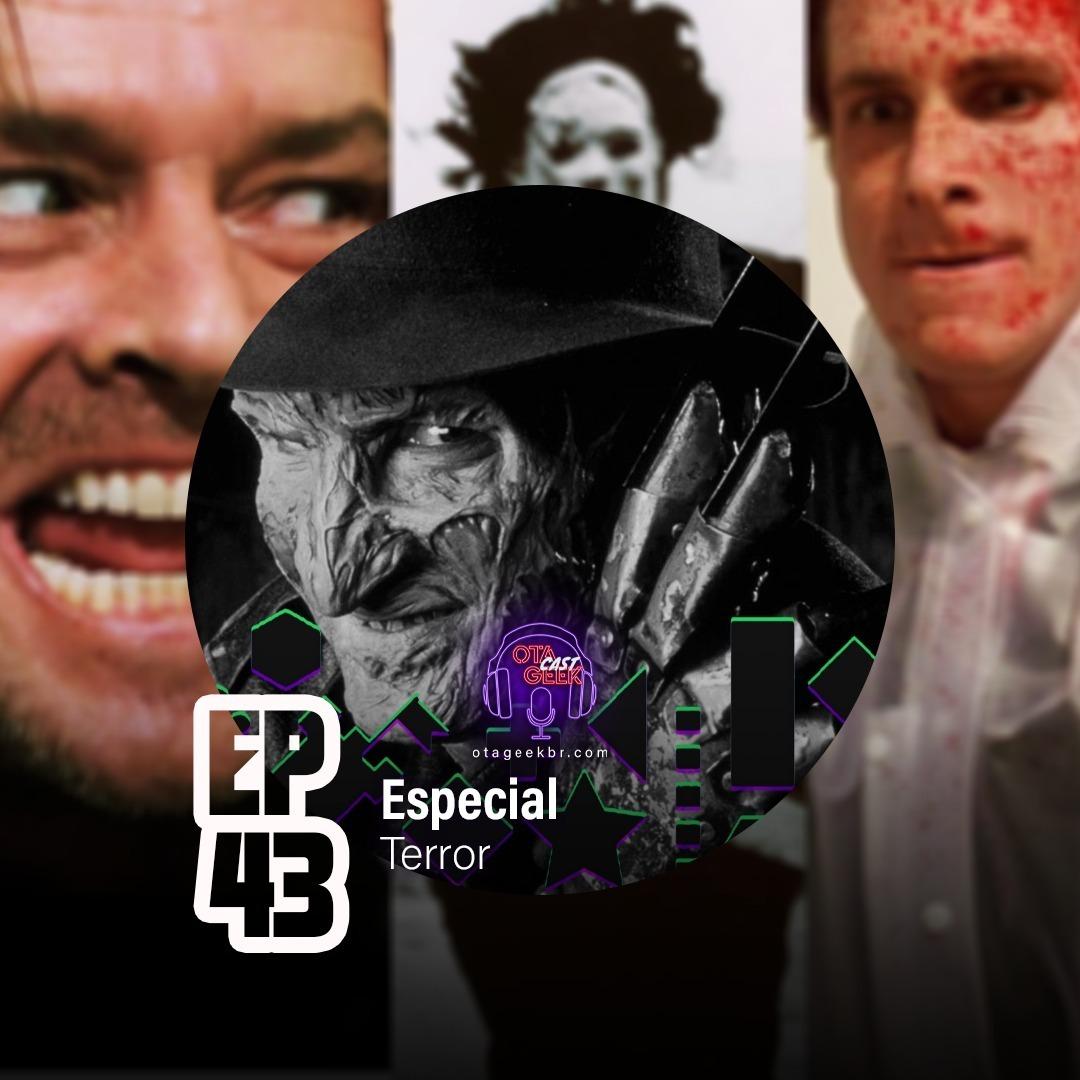 OTGCAST #43 Especial de Halloween - Terror e seus subgêneros