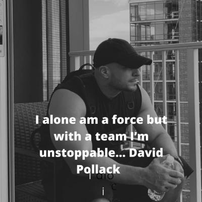 I TOLD MYSELF (DONT BE A BITCH) with Vetprenuer David Pollack