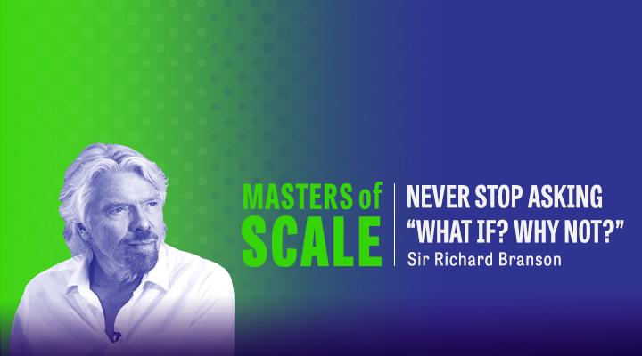 81. The secret to big leaps, w/Sir Richard Branson
