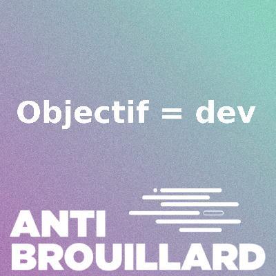 Objectif = dev #4 : Reveal du projet final