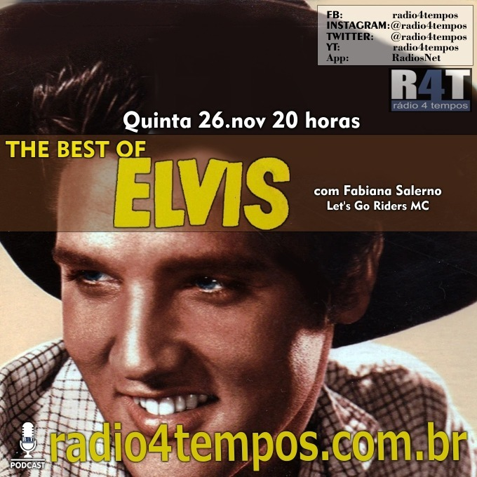 Rádio 4 Tempos - The Best of Elvis 124:Fabiana Salerno