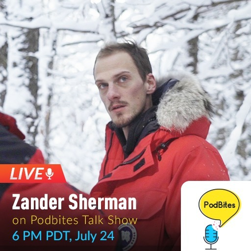 Zander Sherman on Podbites #GoLive #Interview