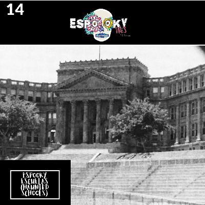 Espooky Escuelas (Haunted Schools) with Carmen of Novelas con Cafecito