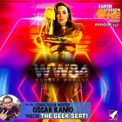 The Earth Station One Podcast - Wonder Woman 84 Movie Review