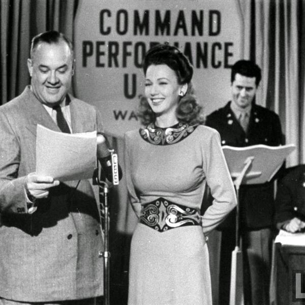 Command Performance - Mickey Rooney - Don Ameche - Armed Forces Radio - Episodes 16 and 17