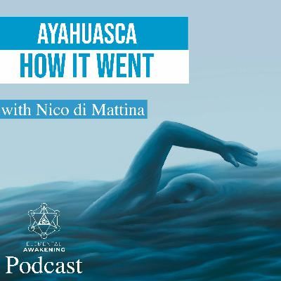 EA Ep. 48 - On meeting gurus, swimming on grass & other insights from Ayahuasca with Nico Di Mattina