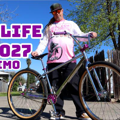 UMP Bikelife Ep. #027   BDANKONE brought his custom Bullseyecycle X Geronimo Build by the studio!