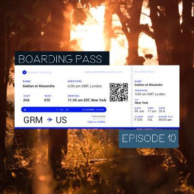 Boarding Pass 010 ✈️ Lauge et alva noto