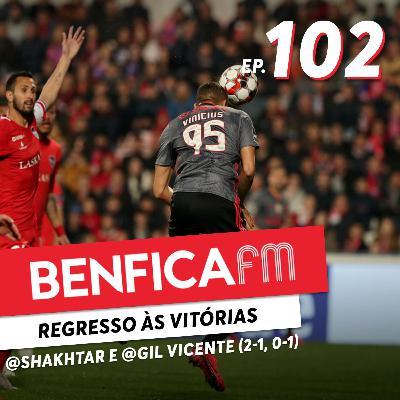 #102 - Benfica FM   @Shakhtar e @Gil Vicente (2-1, 0-1) Pedro Ribeiro