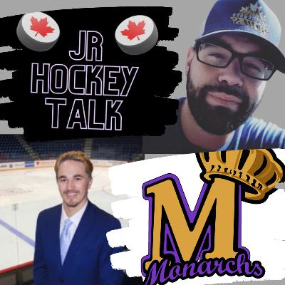 OJSL on Jr Hockey Talk - HC & GM Hayden Stewart - Newmarket Monarchs