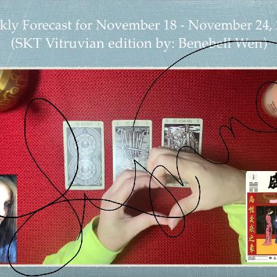 Weekly Forecast for November 18 - 24, 2019