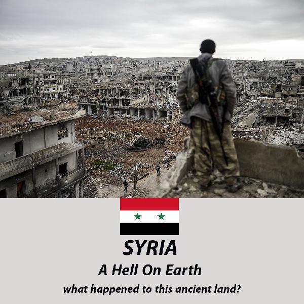 قسمت هشتم: سوریه، جهنمی روی زمین/ چه بر سر این سرزمین آمد؟