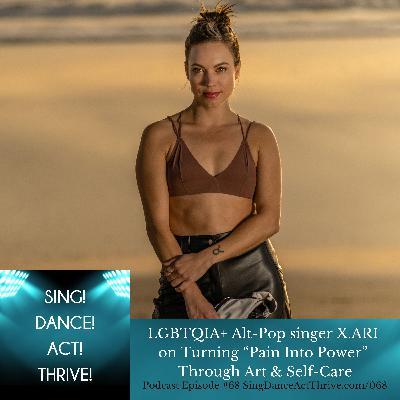 "X.ARI on Turning ""Pain Into Power"" Through Art & Self-Care"