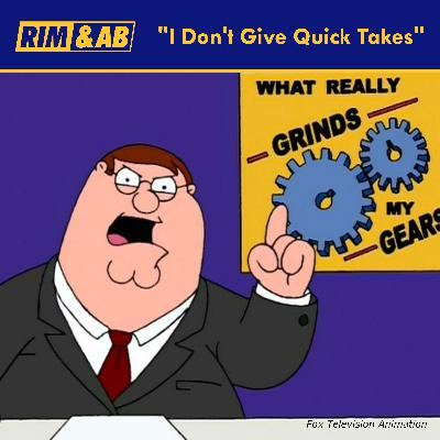 """""""I Don't Give Quick Takes"""" 