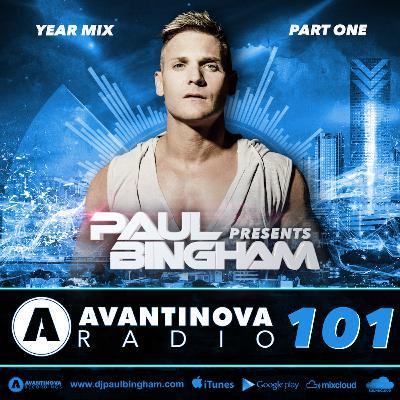 101 - PAUL BINGHAM - AVANTINOVA RADIO - 7 Jan 2019 (Year Mix Part One)