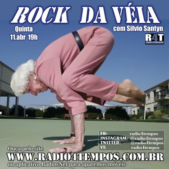 Rádio 4 Tempos - Rock da Véia 54:Rádio 4 Tempos