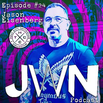 JWN #24 Jason Eisenberg of Holy City Tattooing Collective