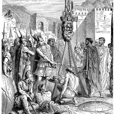 010- Roma Galyalılar Tarafından Yağmalanıyor