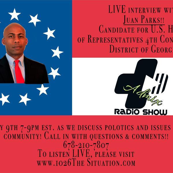 AdMix Radio w/guest Jaun Parks (5-9-18)