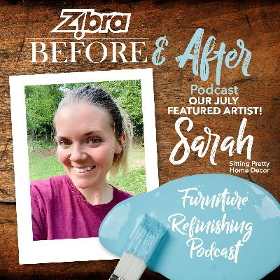 Meet Sarah Bolton, Our July Featured Furniture Refinisher!